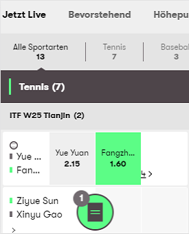 Mobiler Screenshot von 10bet