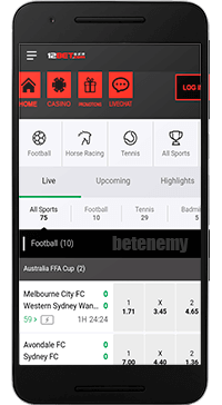 12Bet mobile sports
