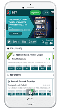 22Bet mobile service