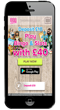 888 mobile bingo and slots