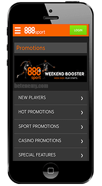 promotions of 888sport