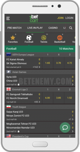 betcart android app live betting