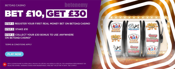 Betdaq welcome bonus
