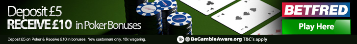 poker offer from betfred