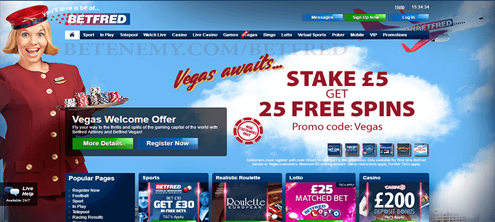 betfred website review