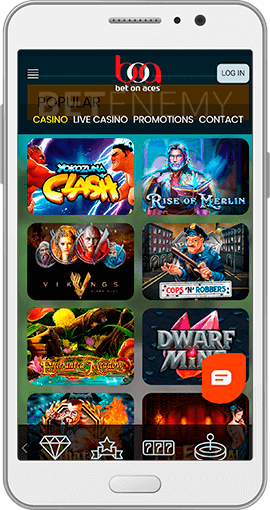 Bet On Aces mobile casino