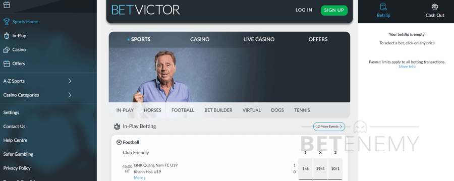 Contact Betvictor