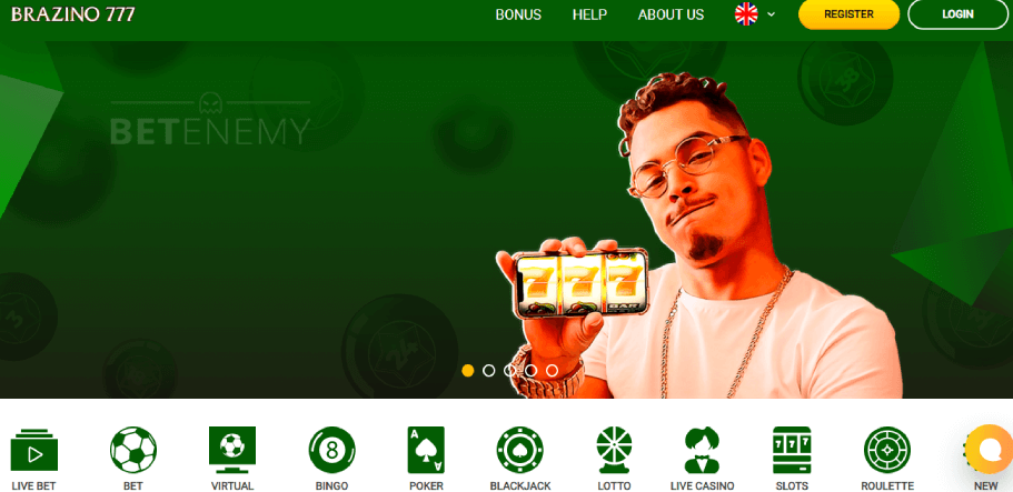 Brazino777 Casino Review 2020 - Games, Live Dealers + Pros & Cons