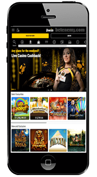 mobile casino section of bwin