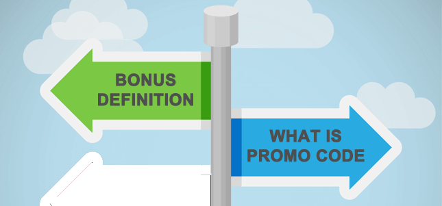difference between bonus and promo code
