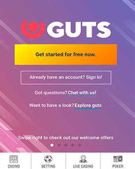 Guts mobile application