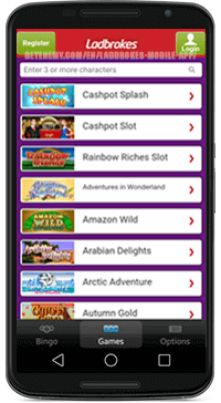 casino games on android app