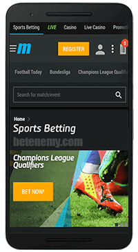 MyBet mobile sports betting