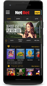NetBet mobile casino app