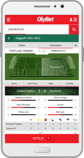 olybet android app live football betting