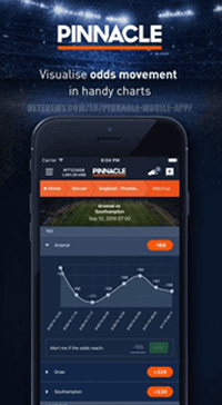 pinnacle odds movement on ios