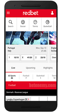 Redbet mobile sports betting
