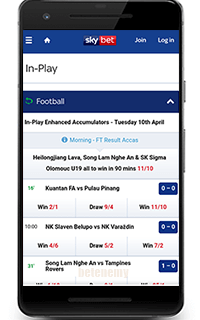 SkyBet mobile sports betting
