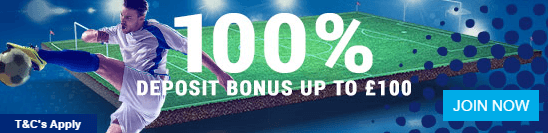 A £100 bonus at Sportingbet