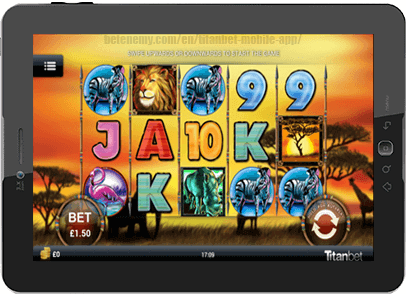 mobile casino app at titanbet