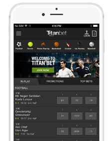 Titanbet mobile apps