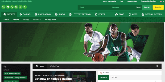 unibet website review