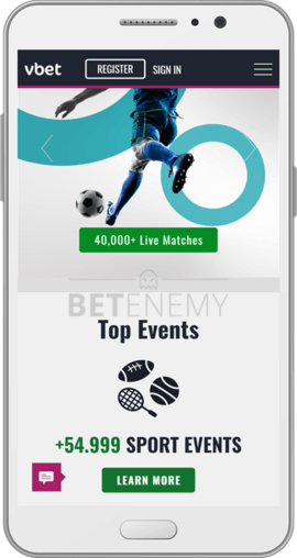 vbet android app homepage