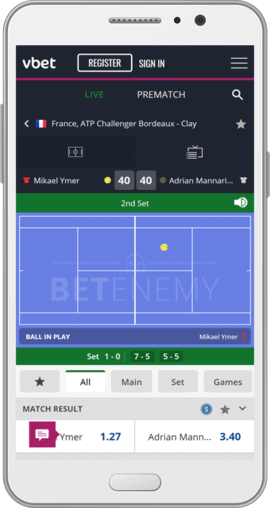 vbet android app live betting