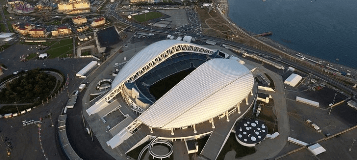 world cup 2018 - fisht stadium