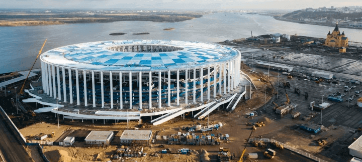 world cup 2018 - nizhny novgorod stadium